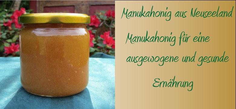 Manuka, Honig aus Neuseeland
